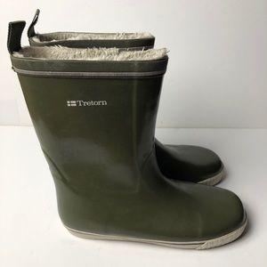 TRETORN Skerry Rain Boots Green